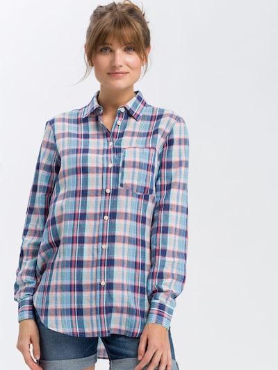 Cross Jeans Blusen ' 75216 ' in blau, Produktansicht