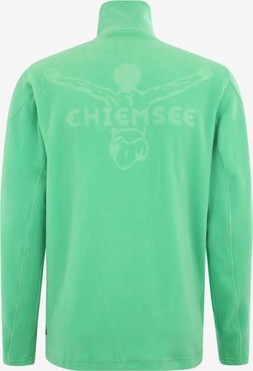 CHIEMSEE Sport-Sweatshirt in grün: Rückansicht