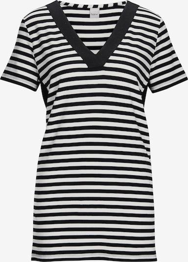 heine Shirt in schwarz / weiß, Produktansicht