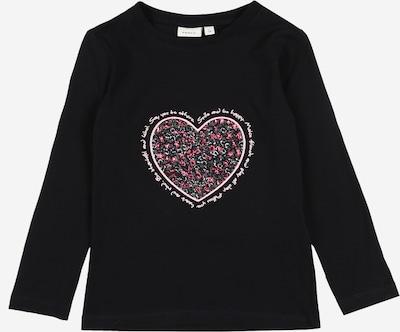 NAME IT Shirt in saphir / grün / rosa / dunkelpink, Produktansicht