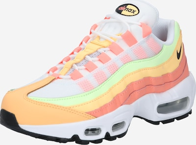 Nike Sportswear Niske tenisice 'Air Max 95' u pastelno zelena / marelica / ružičasta / crna / bijela, Pregled proizvoda
