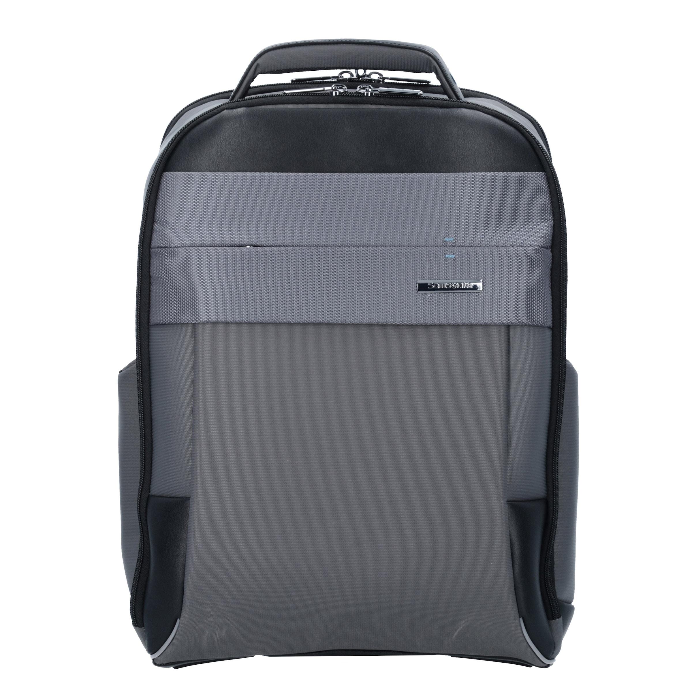 TaubenblauGrau Spectrolite Business Laptopfach Samsonite Rucksack Cm In Schwarz 0 40 2 qpUMGVLSz