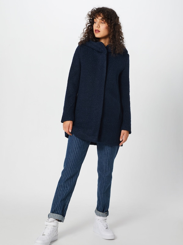 Foncé Tom En saison Mi Tailor Manteau Bleu 8OP0wkn