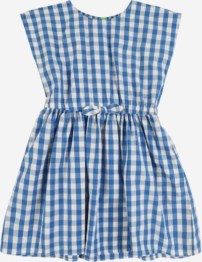 UNITED COLORS OF BENETTON Kleid in blau / weiß, Produktansicht