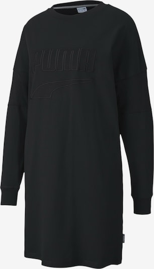 PUMA Oversized jurk in de kleur Zwart, Productweergave