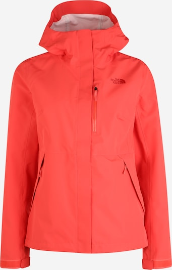 THE NORTH FACE Regenjacke 'Dryzzle' in rot, Produktansicht