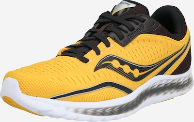 saucony Chaussure de course 'Kinvara 11' en jaune, Vue avec produit