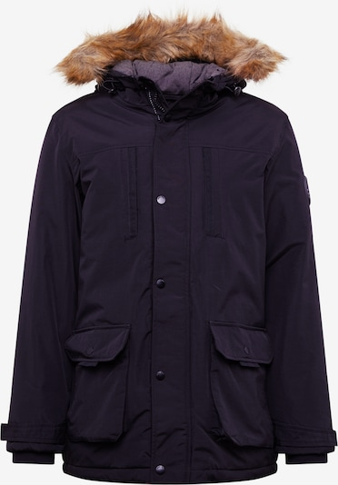 BURTON MENSWEAR LONDON Zimná parka 'black oak parka all' - čierna, Produkt