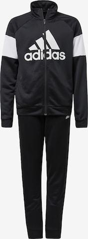 Costum de trening de la ADIDAS PERFORMANCE pe negru