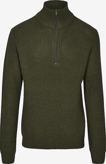 Brandit Pullover in oliv, Produktansicht