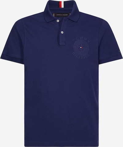 TOMMY HILFIGER Poloshirt 'TONAL EMBR UTILITY SLIM POLO' in dunkelblau, Produktansicht