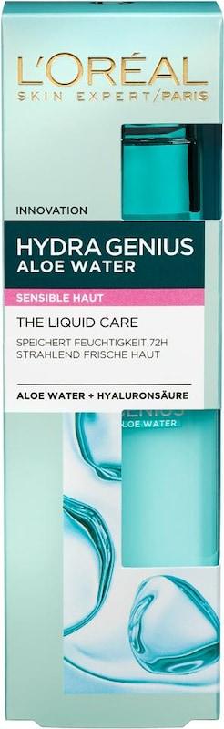 L'Oréal Paris 'Hydra Genius Aloe Aqua Feuchtigkeitsfluid', Gesichtspflege für sensible Haut