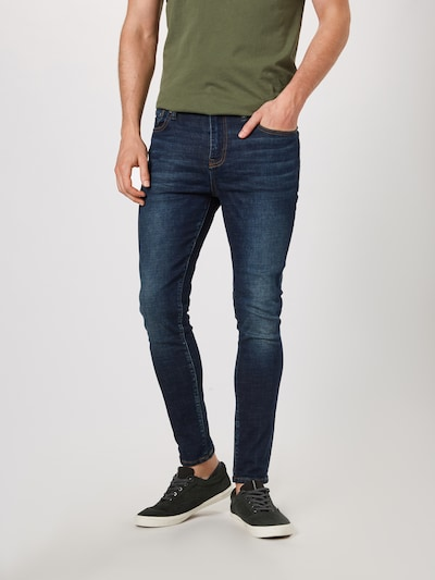 Superdry Jeans 'TRAVIS SKINNY' in blue denim: Frontalansicht