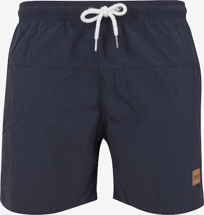 Urban Classics Badeshorts 'Block Swim Shorts' in navy, Produktansicht