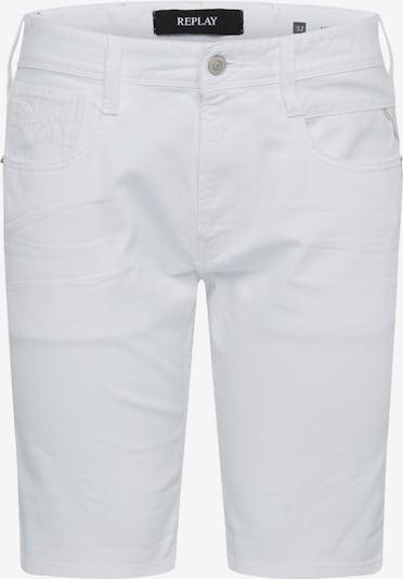 REPLAY Shorts 'ANBASS' in weiß, Produktansicht