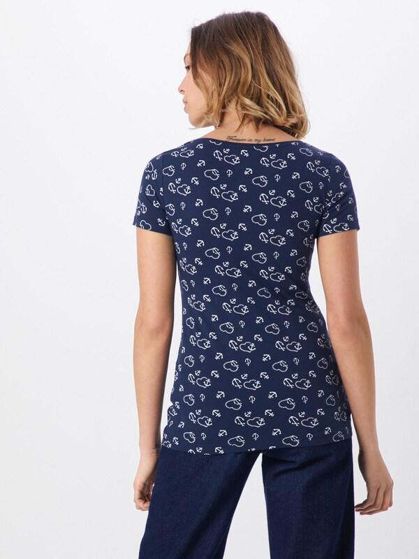 MarineBlanc Esprit En shirt T Bleu NwOXk0P8nZ