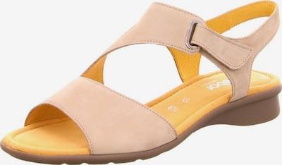 GABOR Sandale in beige / gelb, Produktansicht