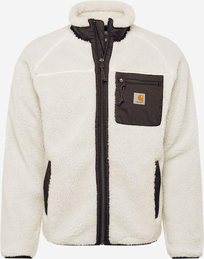 Carhartt WIP Jacke 'Prentis Liner' in schwarz / offwhite, Produktansicht