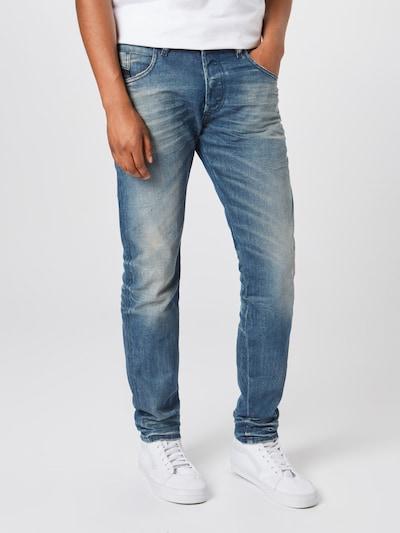 DIESEL Jeans 'BAZER' in blue denim, Modelansicht