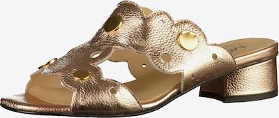 MOT-CLè Pantolette in gold, Produktansicht