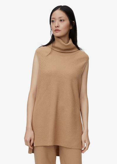 Marc O'Polo Pure Stricktop in camel, Modelansicht