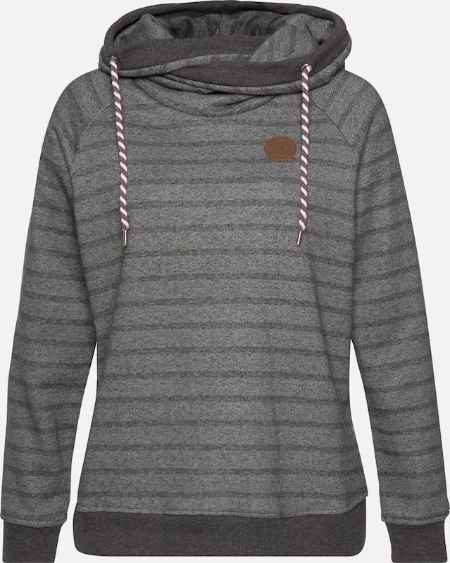 Navigazione Sweatshirt in greige   dunkelgrau  Große Preissenkung