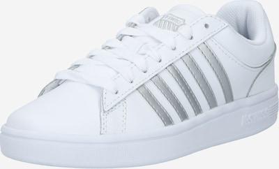 K-SWISS Sneaker 'Court Winston' in silber / weiß, Produktansicht