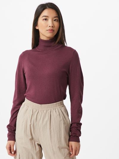 ICHI Sweter 'MAFA' w kolorze jagodam, Podgląd na modelu(-ce)