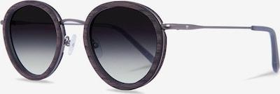 Kerbholz Sonnenbrille 'Berthold' in dunkelgrau, Produktansicht