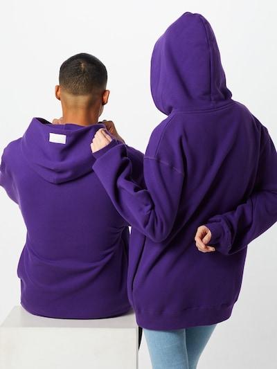 PARI Sweatshirt 'Pelin' in de kleur Pruim: Achteraanzicht