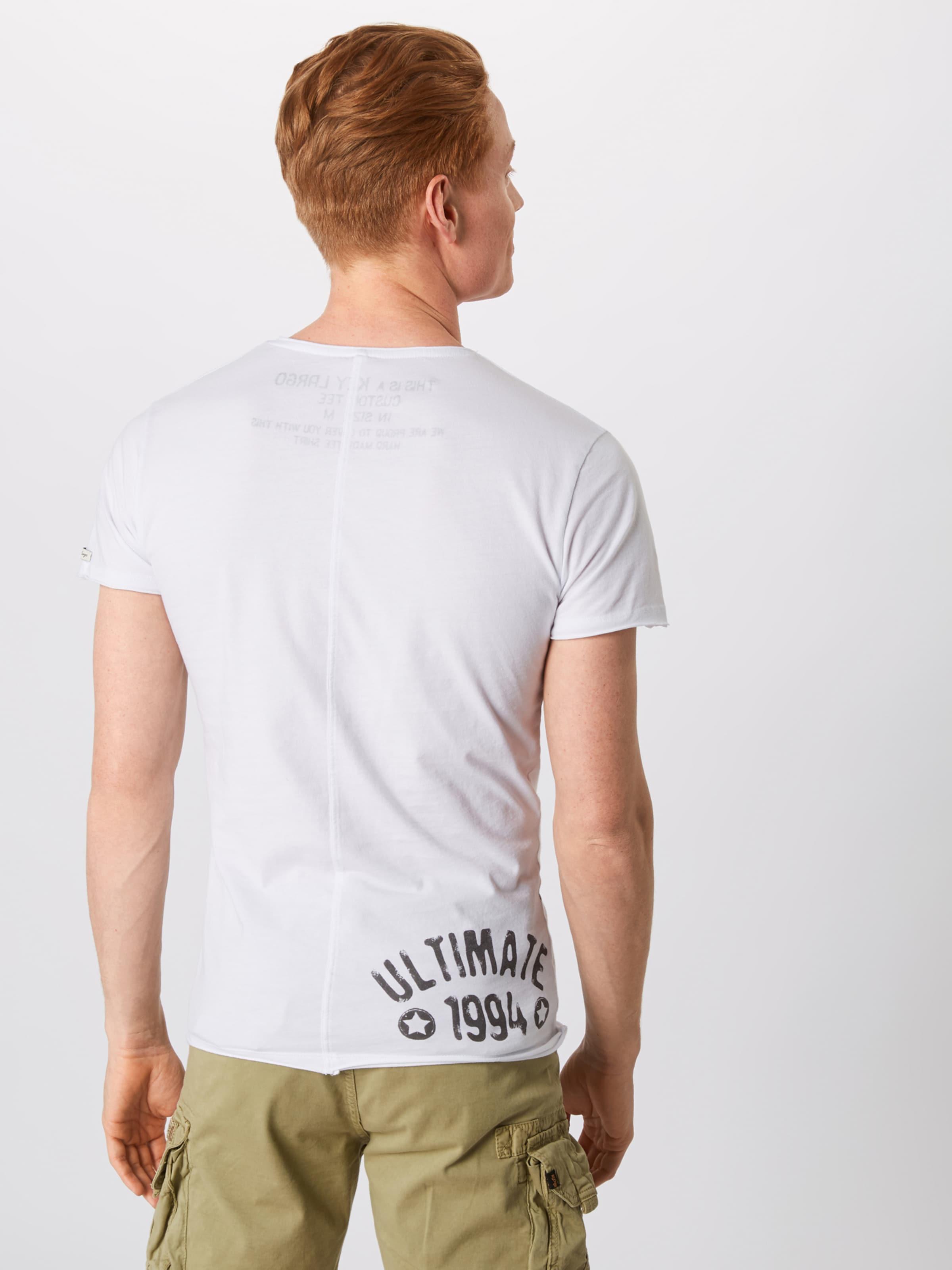Mélange T Largo Key shirt En De CouleursBlanc m8nN0wv