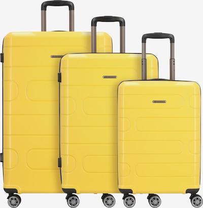 Franky Kofferset in gelb, Produktansicht