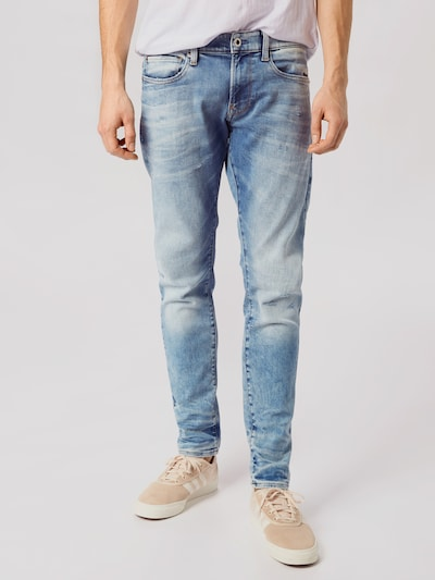 G-Star RAW Jeans 'Revend' in blue denim, Modelansicht