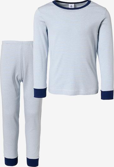 PETIT BATEAU Schlafanzug in blau, Produktansicht