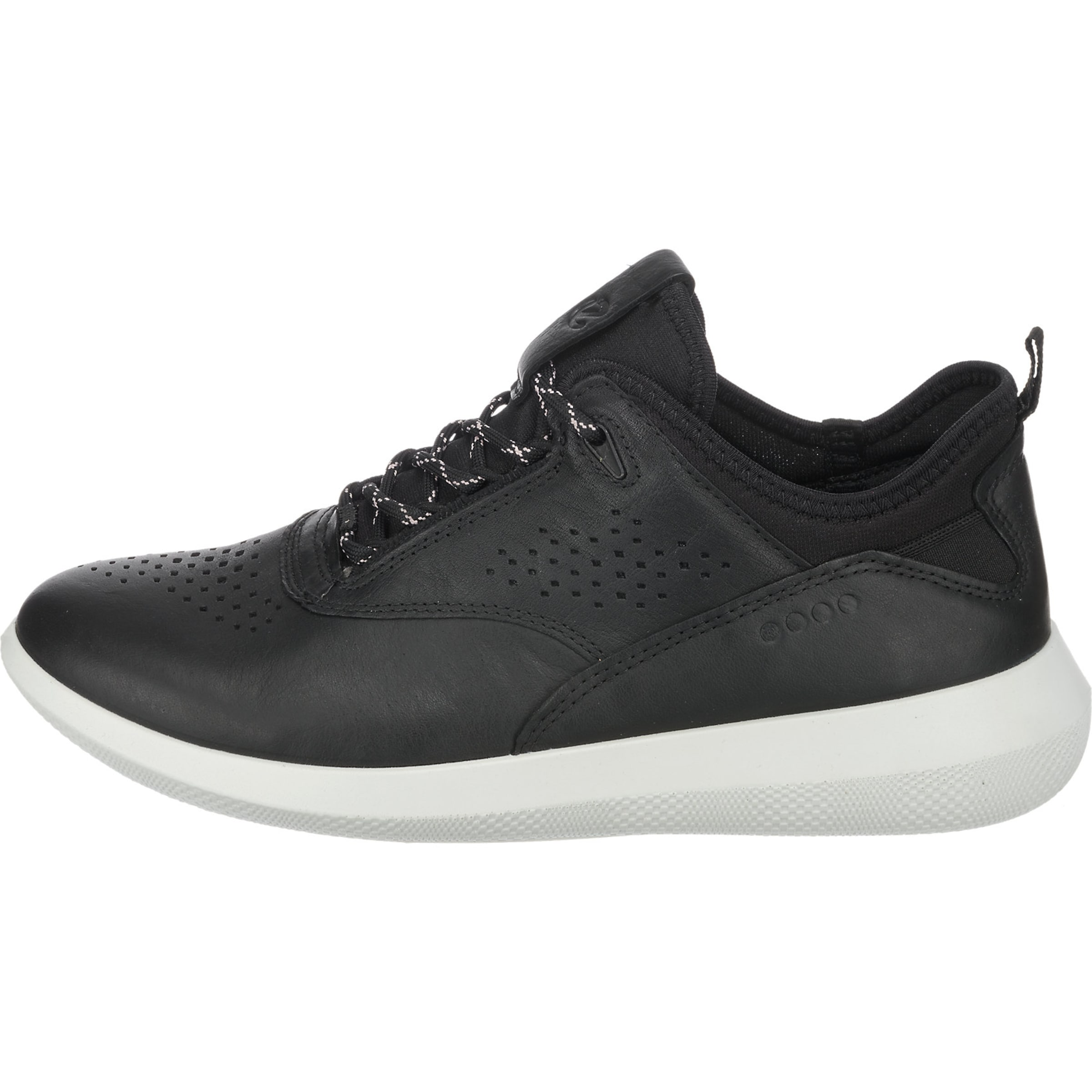 SchwarzWeiß In Ecco 7' 'soft Sneakers 0XkN8OPZnw
