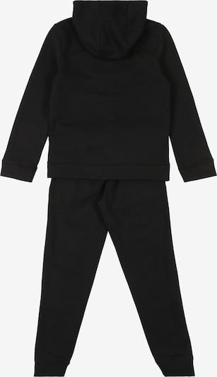 Nike Sportswear Jogginganzug in schwarz: Rückansicht
