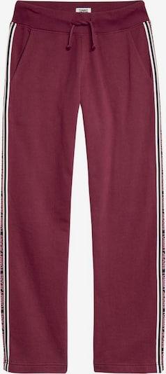 Tommy Jeans Sweathose in rotviolett, Produktansicht