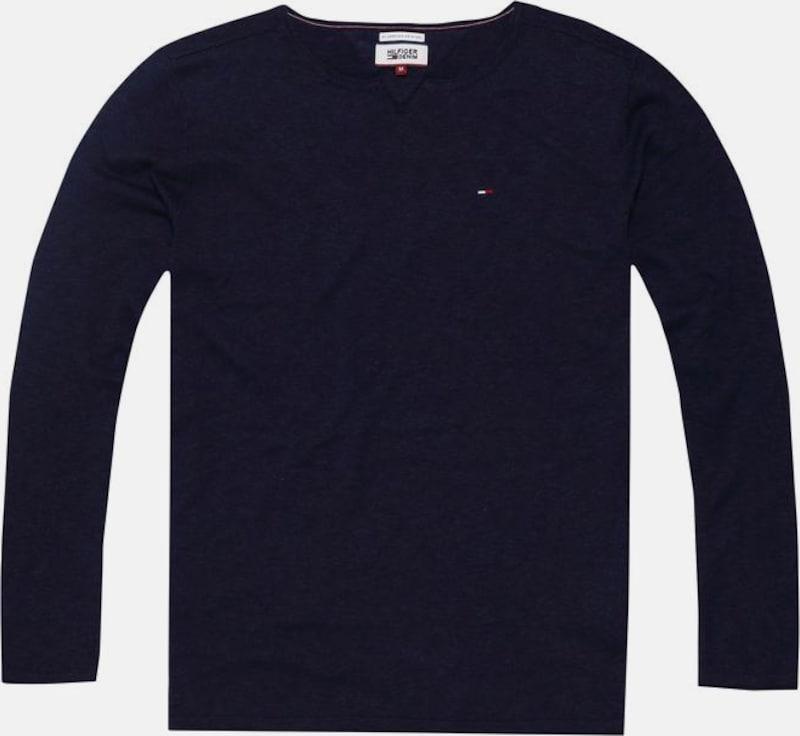 Tommy Jeans Rundhalspullover 'THDM BASIC YN SWEATER L/S 17'