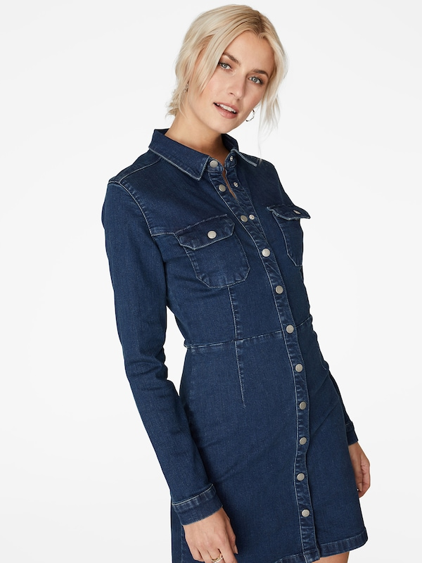 LeGer by Lena Gercke Kleid 'Nala' in blue denim, Modelansicht