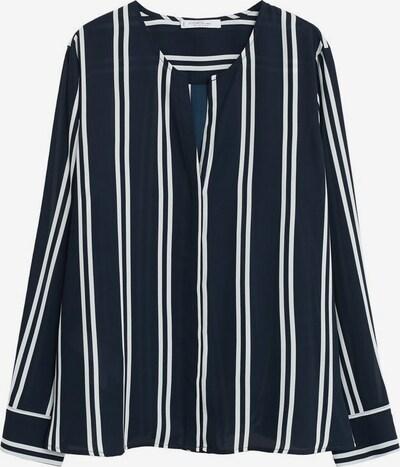 VIOLETA by Mango Bluse 'Stripy' in navy / weiß, Produktansicht