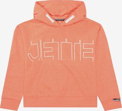 JETTE BY STACCATO Sweatshirt in lachs / weiß, Produktansicht