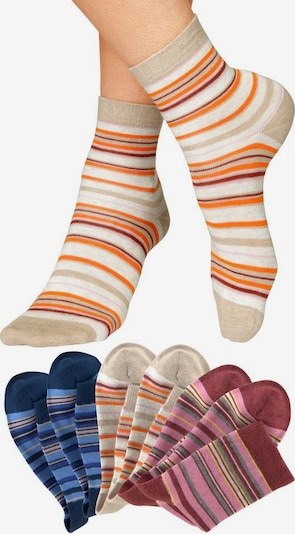 HIS JEANS Socken in mischfarben, Produktansicht