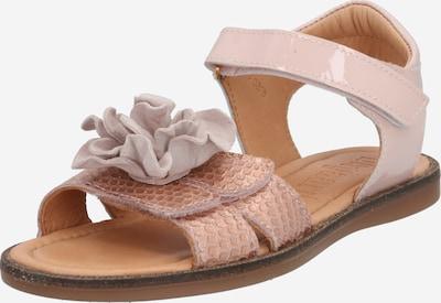 BISGAARD Sandale in grau / altrosa, Produktansicht