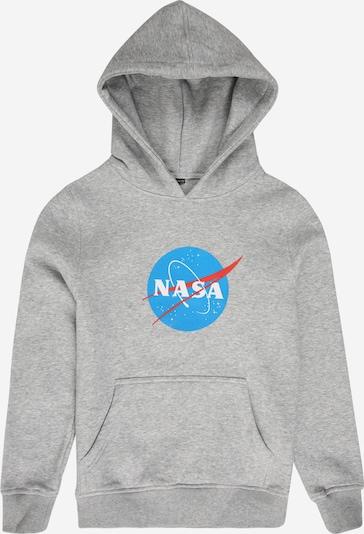 Mister Tee Sweatshirt 'NASA' in blau / grau / rot, Produktansicht
