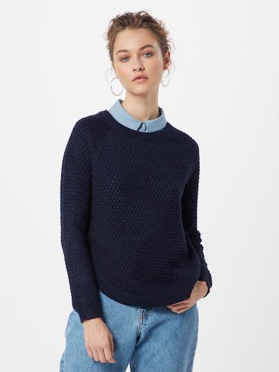 ONLY Pullover 'ONLVIOLET' in dunkelblau, Modelansicht