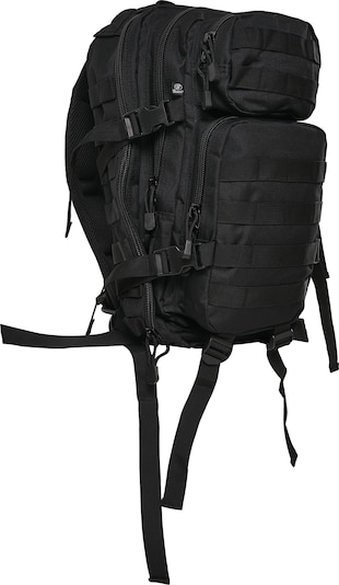 Brandit Rucksack in schwarz, Produktansicht