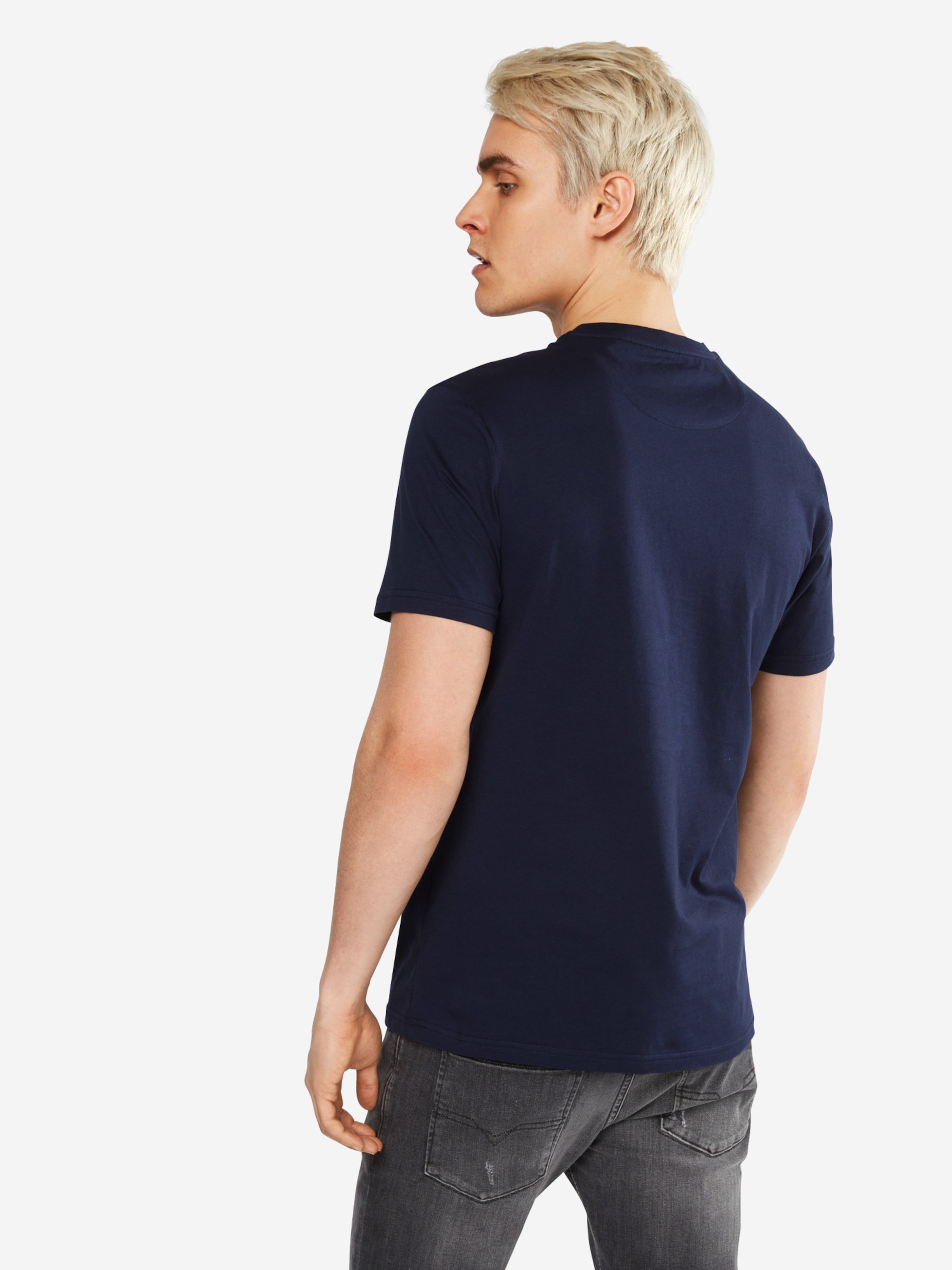 Lyle & Scott T-Shirt 'Stripe Pocket' Rabatt Erschwinglich LgC3lrg
