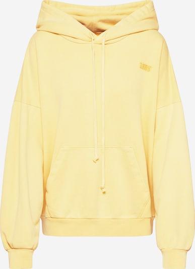 LEVI'S Sweatshirt '2020 HOODIE' in gelb, Produktansicht