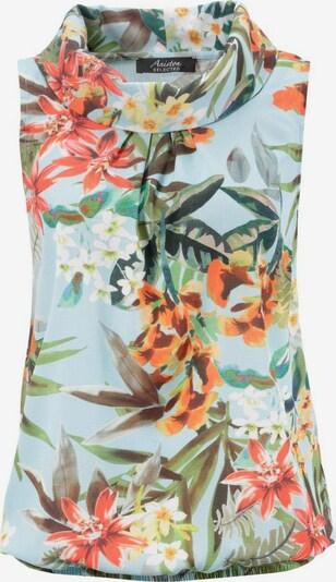 Aniston SELECTED Bluse in hellblau / mischfarben, Produktansicht