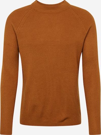 BURTON MENSWEAR LONDON Pullover 'FISHERMAN MUSTARD' in braun, Produktansicht